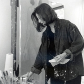 MacDowell Colony 1999 Tina Painting