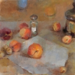 Still-Life-with-Shaker-and-Peaches