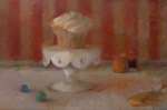 Still_Life_with_Cupcake_on_Pedestal_I