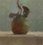 Tina_Ingraham_Pear_with_Leaf