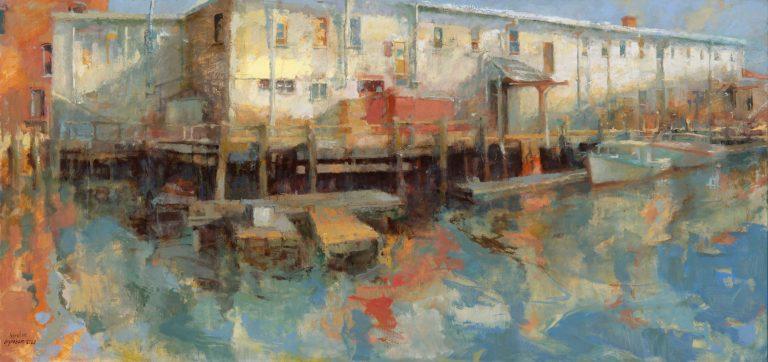 "Tina Ingraham ""Sight Specific,"" Greenhut Galleries, Portland, Maine"